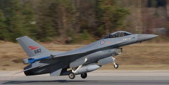 Norwegian Air Force f16