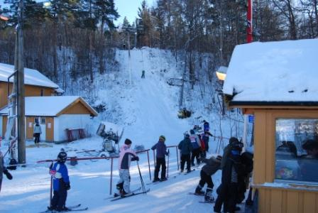 skiing in kristiansand